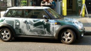 X-Ray Car Wrap