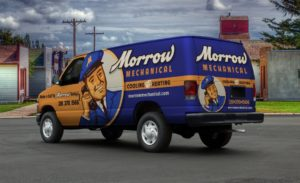 Morrow Mechanical Car Wrap