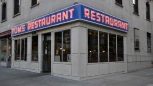 Tom's Restaurant sign