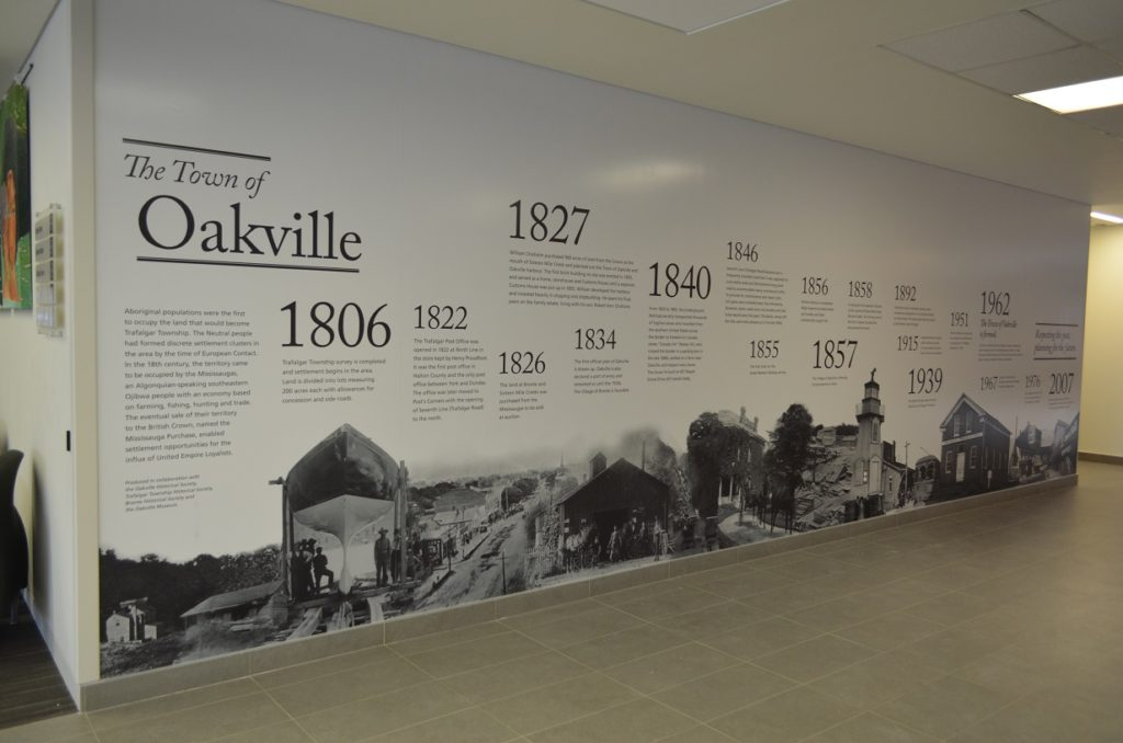 Town Hall Oakville Wall Decal