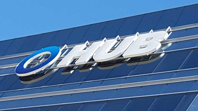 Hub International LED Illuminated Channel Letters
