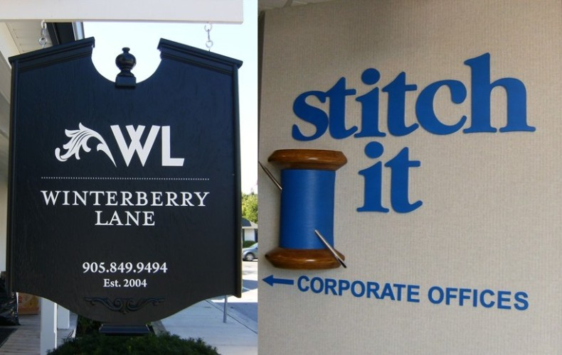 Commercial Exterior Signs vs Interior Signs