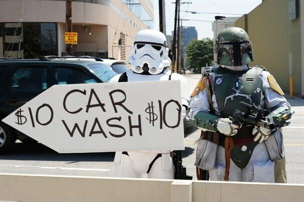 Charity Car Wash Signs