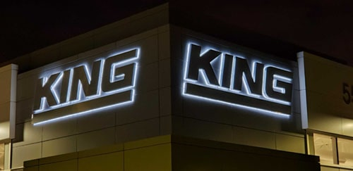 Commercial Letters for Outdoor Signs