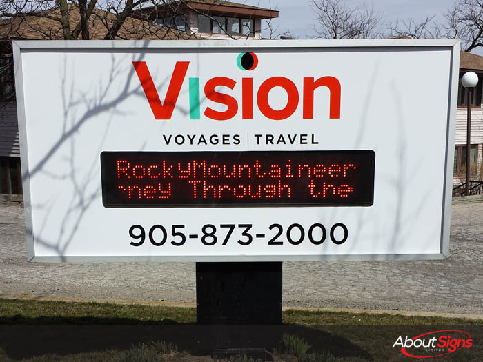 Your Options for Outdoor Digital Signage in Canada