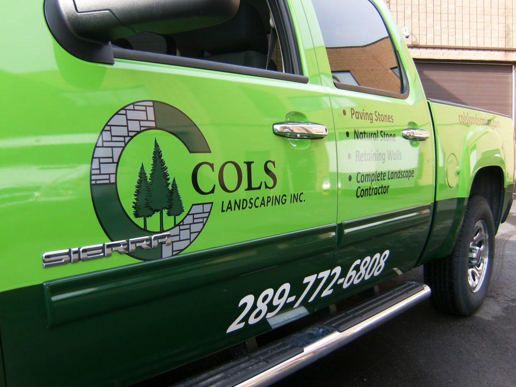 Take Your Brand to Oakville Plaza and Anywhere You Go with Vehicle Signage